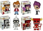 Funko POP Futurama 4 Pack!