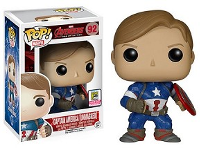 Avengers Age of Ultron - Captain America [Unmasked]